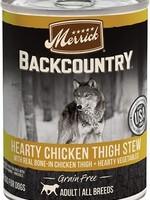Merrick Backcountry Chicken Thigh Stew 12.7 oz.