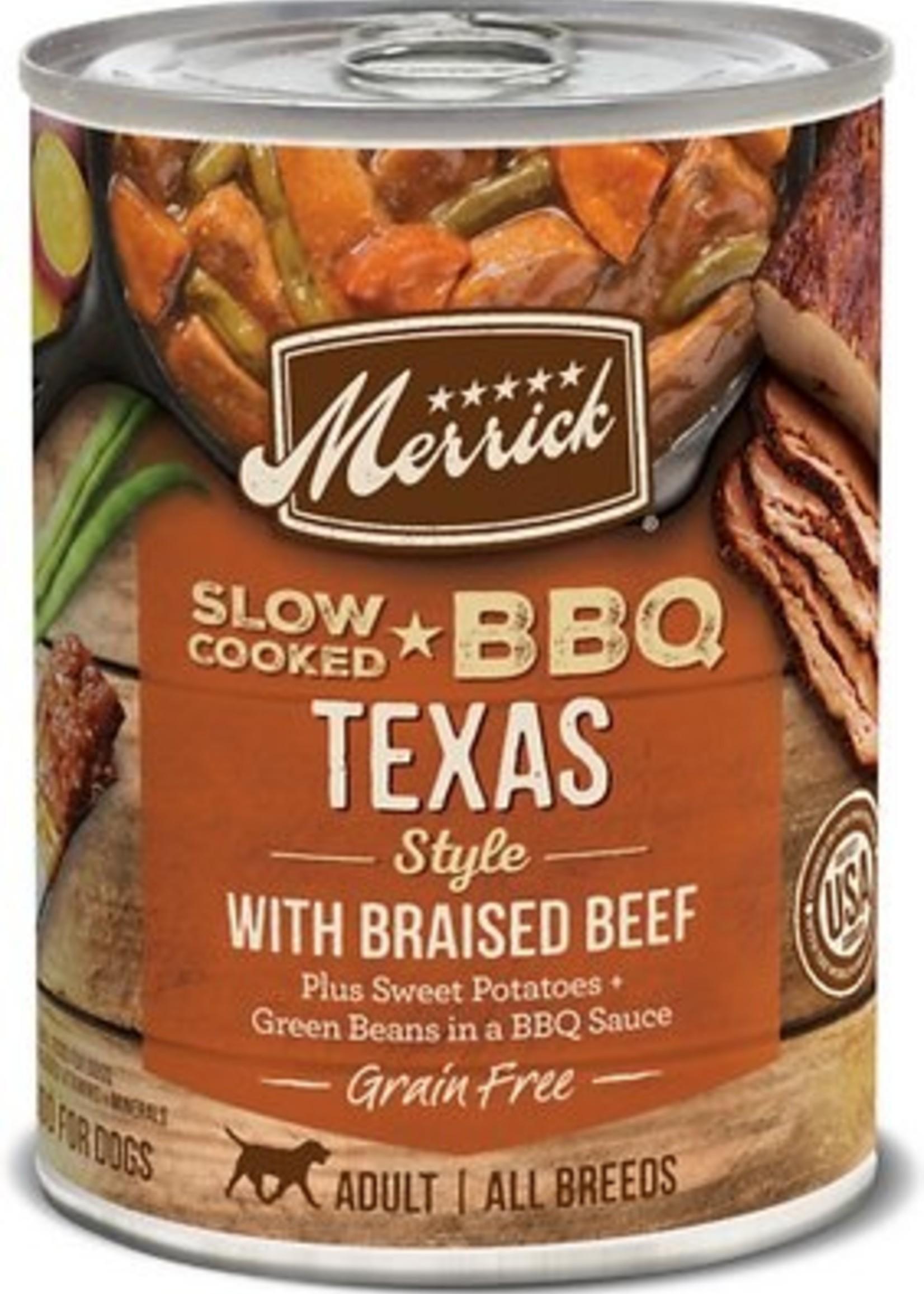 Merrick Merrick BBQ Texas Beef Recipe 12.7 oz.