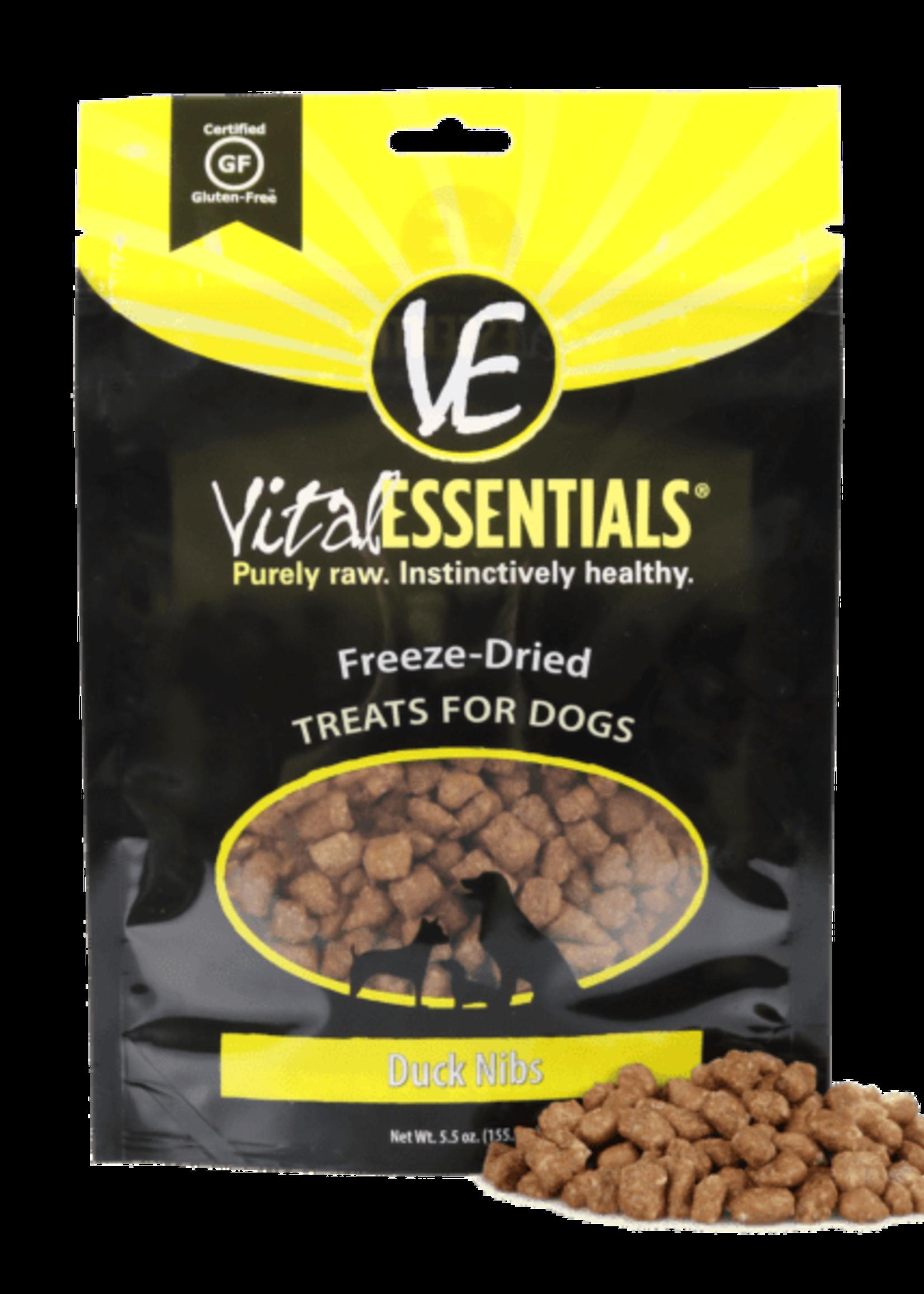 Vital Essentials Vital Essentials Freeze Dried Duck Nibs 5.5 oz