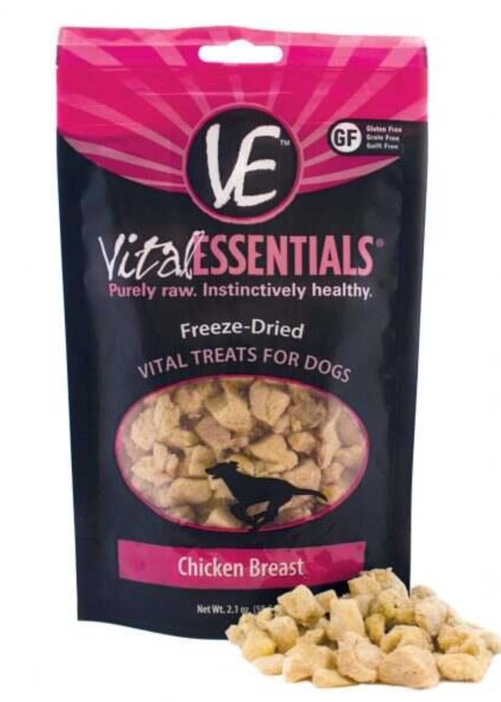Vital Essentials Vital Essentials Freeze Dried Chicken Breast 2.1 oz