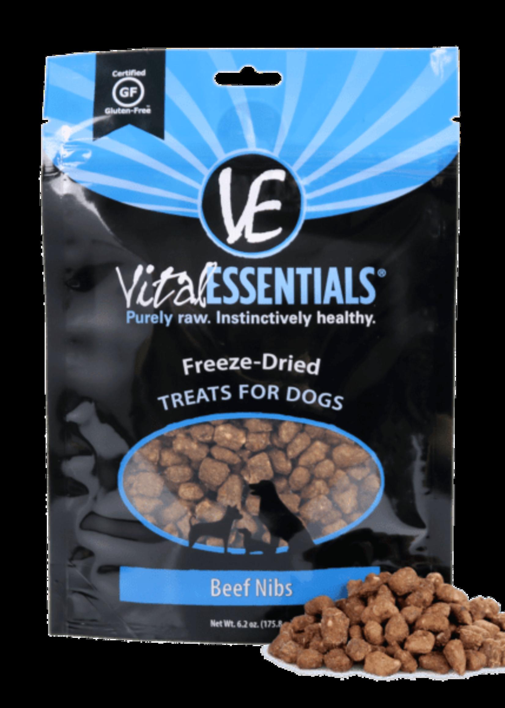 Vital Essentials Vital Essentials Freeze Dried Beef Nibs 2.5 oz