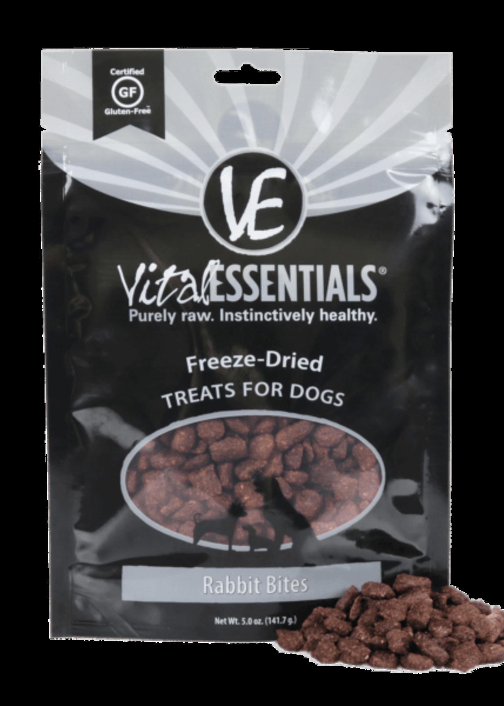 Vital Essentials Vital Essentials Freeze Dried Rabbit Bites 2.0 oz
