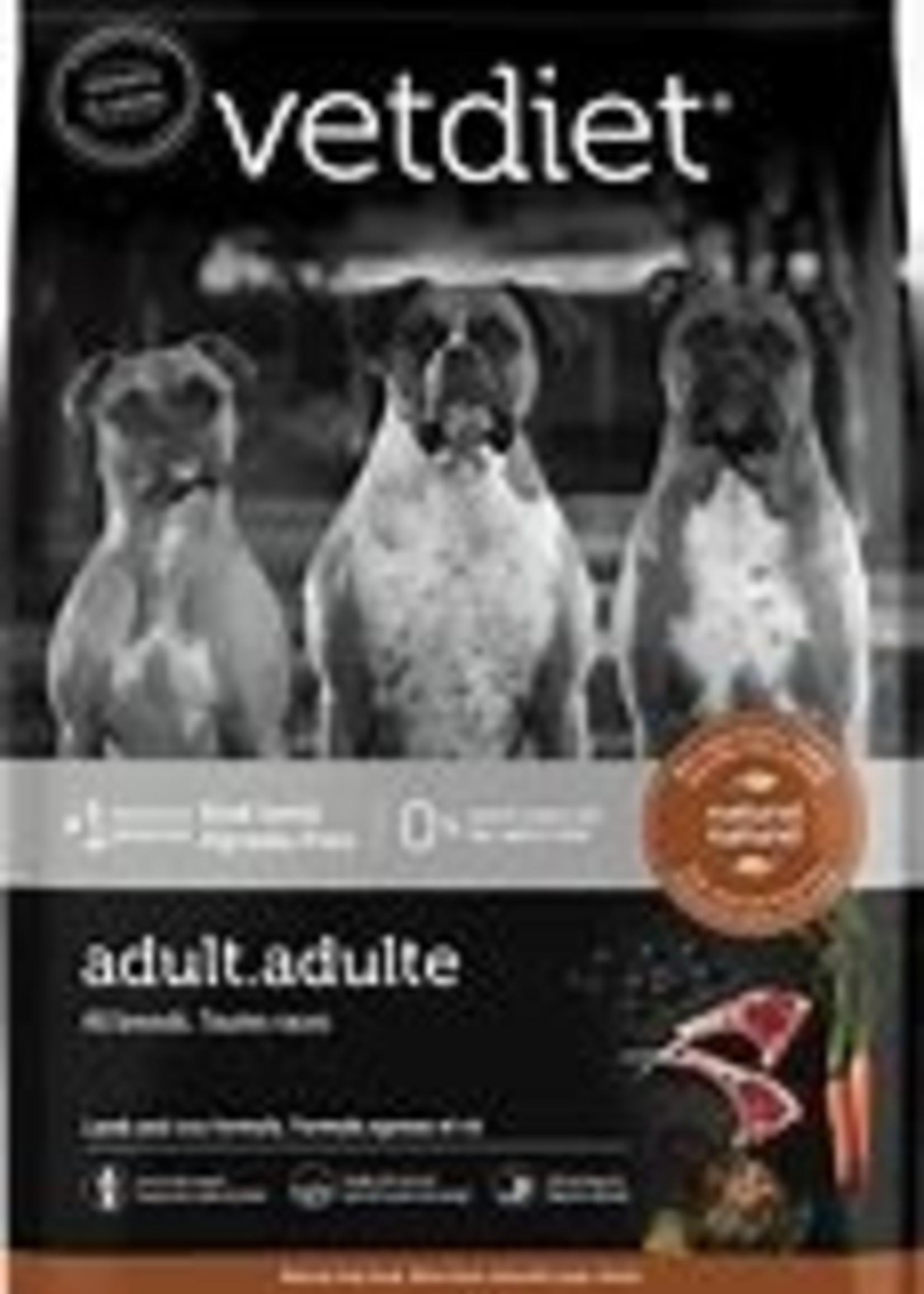 Vetdiet Vetdiet Dog Adult Lamb & Rice 26lbs