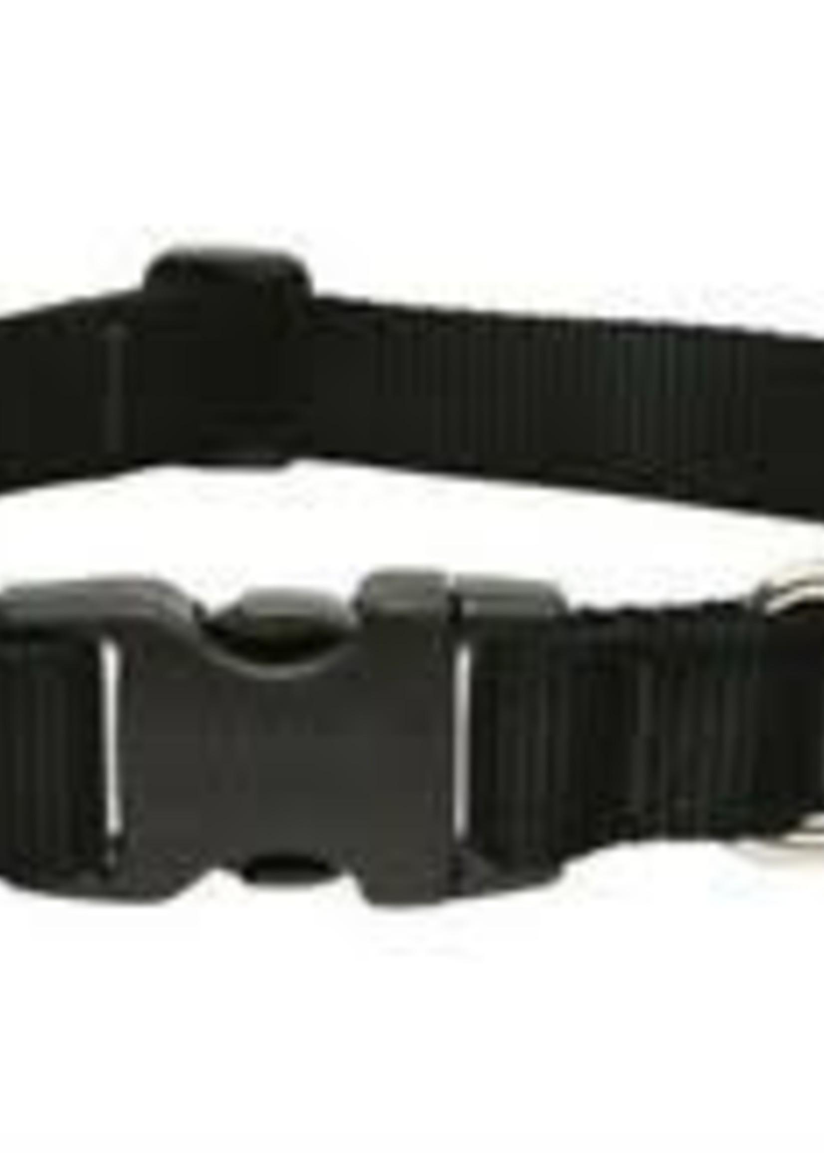 LupinePet Lupine 1in Black 16-28 Adj Collar
