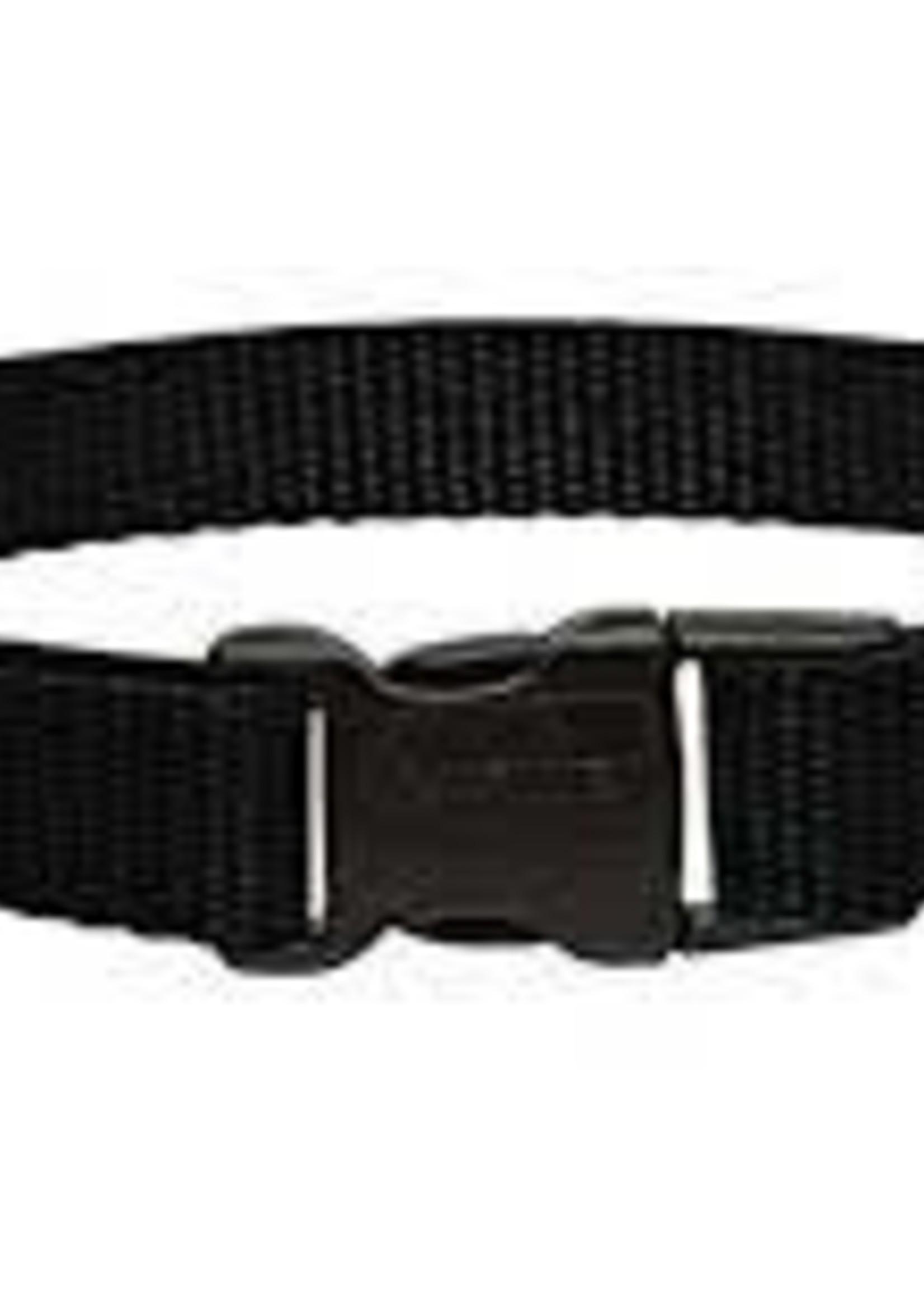 LupinePet Lupine 3/4in  Black 9-14 Adj Collar