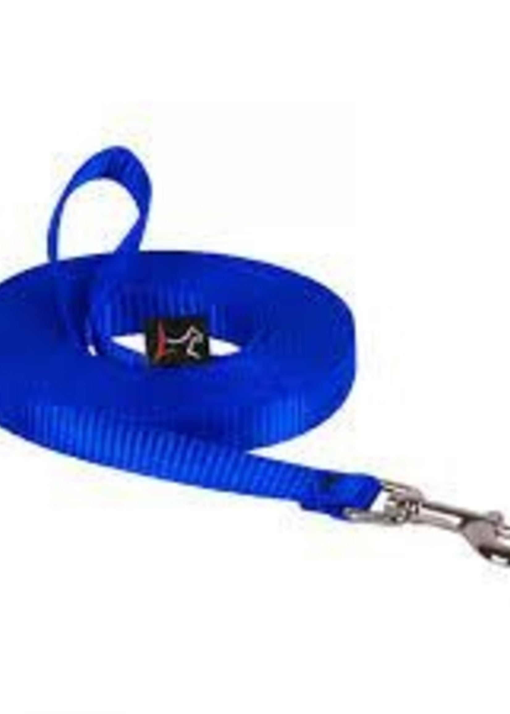 LupinePet Lupine 3/4in Blue 15ft Training Leash
