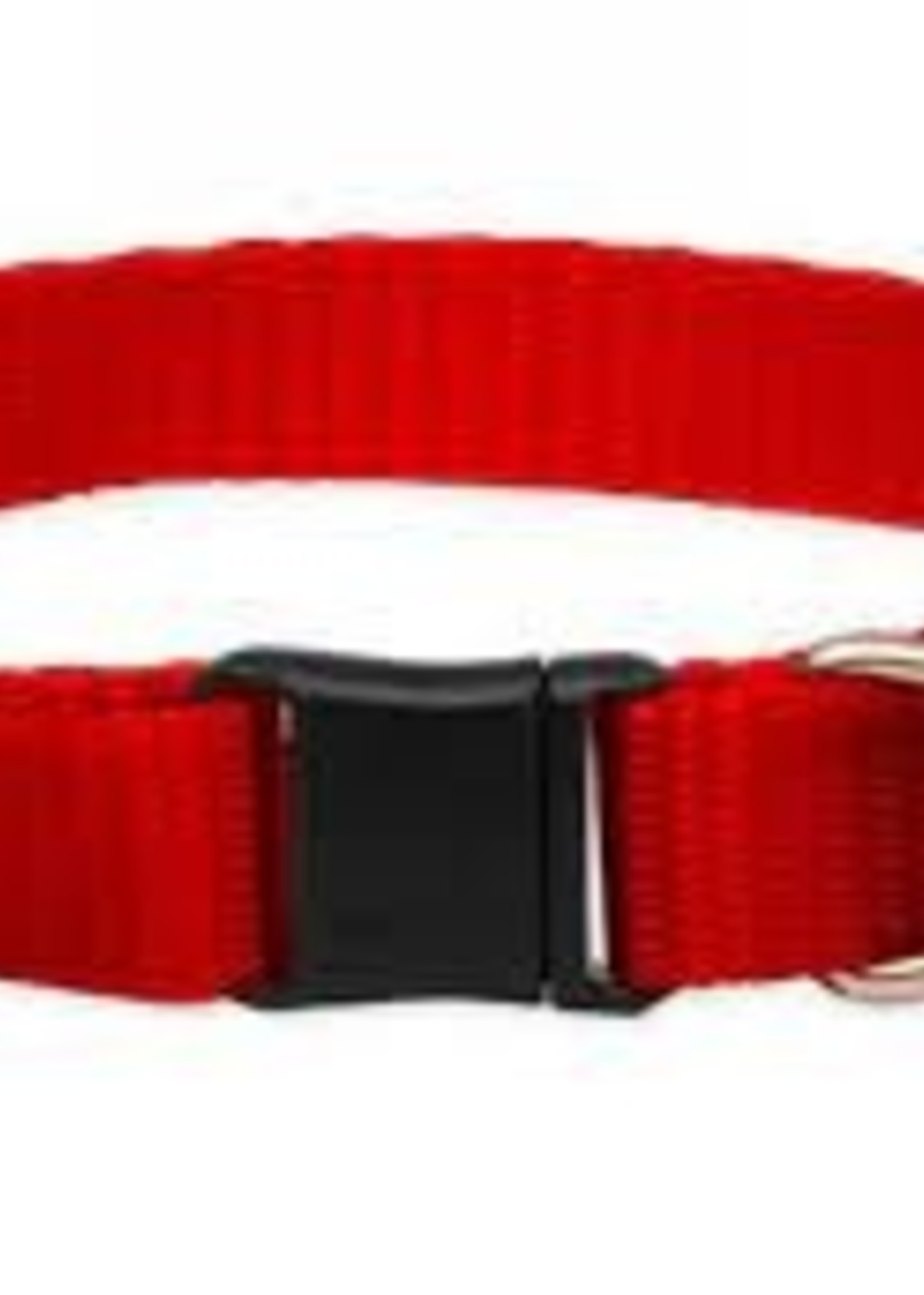 LupinePet Lupine 1/2in Red 8-12 Adj Collar