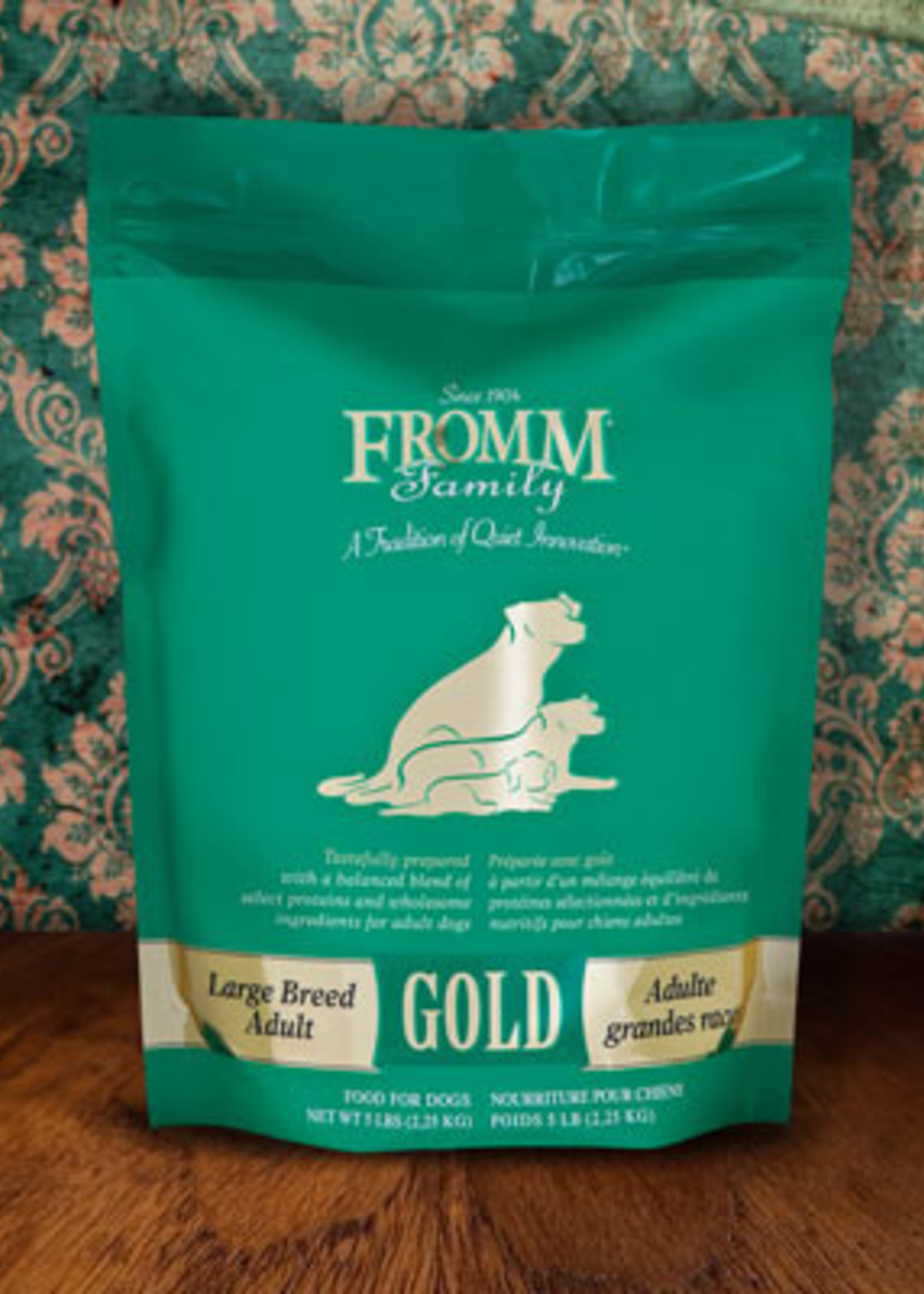 FROMM FAMILY FOODS LLC Fromm Dog Gold Large Breed Adult 33lbs