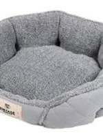 Happy Tails Happy Tails  Microsuede Cat Bed Gray