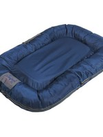 Happy Tails Happy Tails Water Resistant 32x24 Oxford Blue Bed