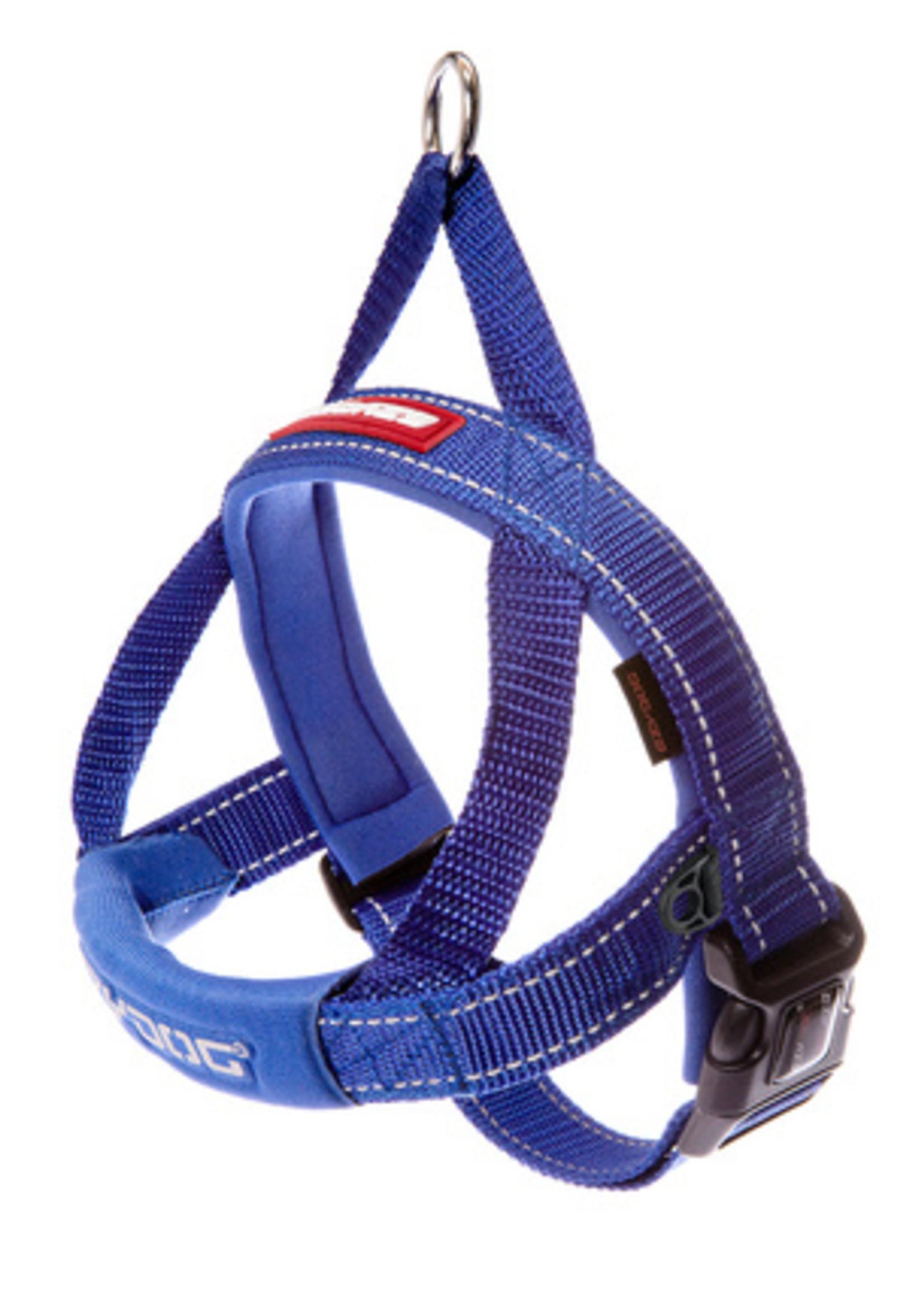 EzyDog EzyDog Quick Fit Harness Blue L