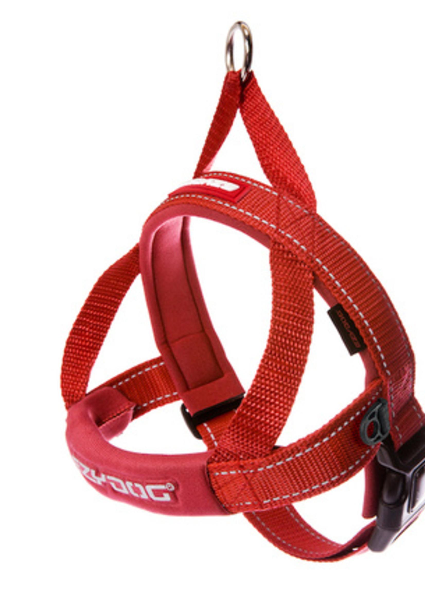 EzyDog EzyDog Quick Fit Harness Red S