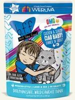 Weruva B.F.F. OMG Ciao Baby! Wet Cat Food 2.8oz Pouch