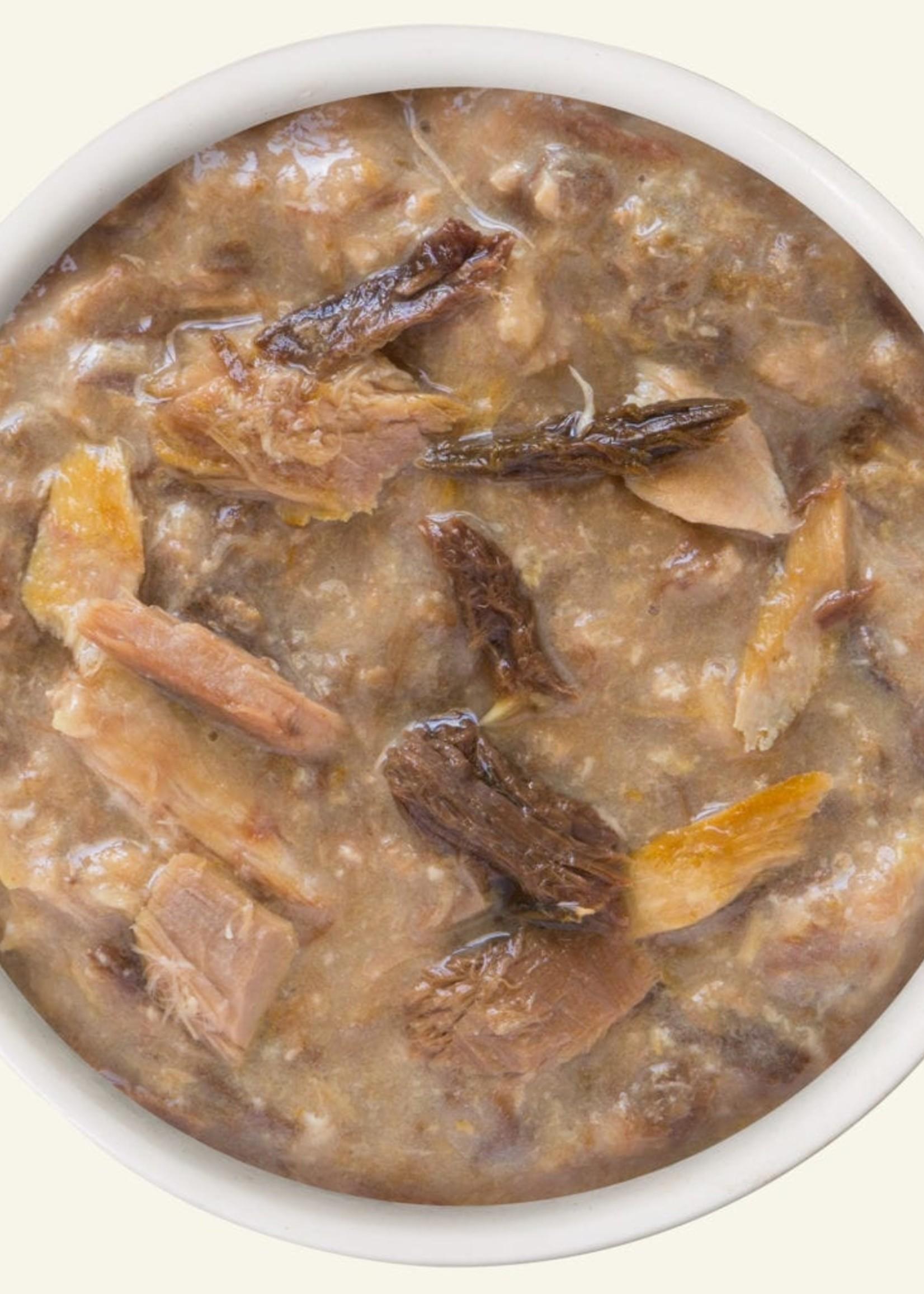 Weruva B.F.F. OMG Crazy 4 U! Chicken & Salmon in Gravy Wet Cat Food 5.5oz Case