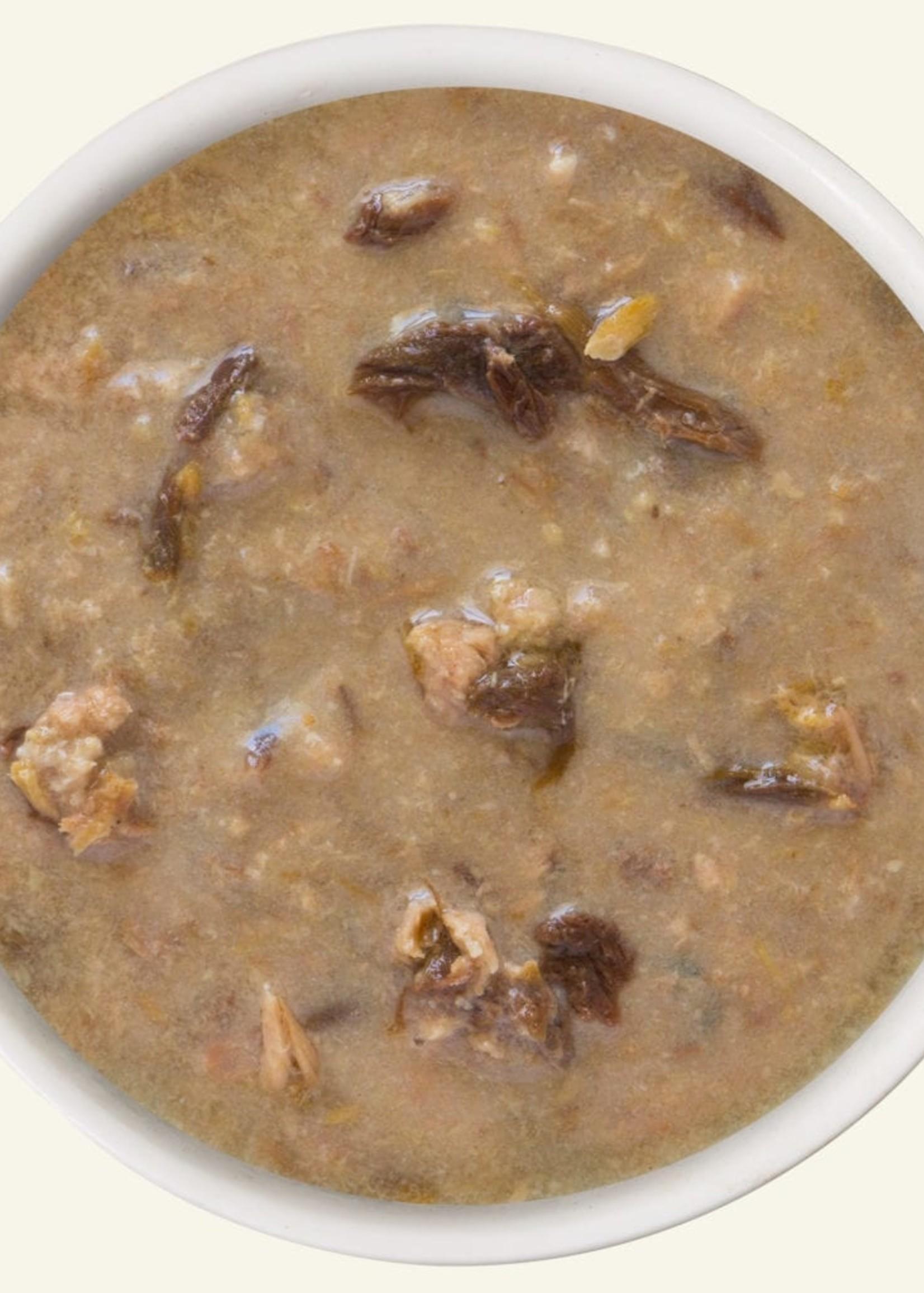 Weruva B.F.F. OMG  QT Patootie! Chicken & Turkey in Gravy Wet Cat Food 5.5oz Case