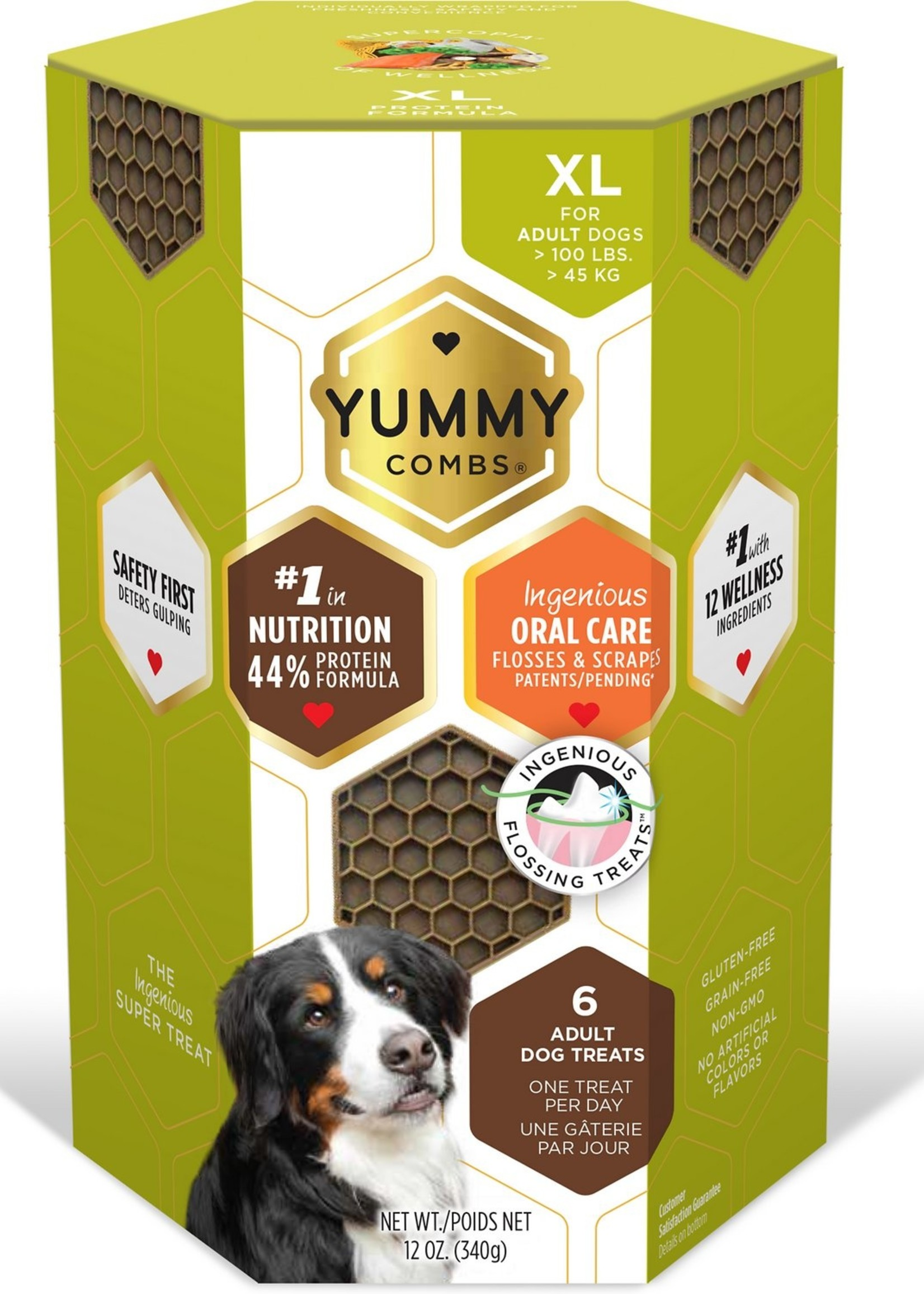 Vet Science Yummy Combs XL 12 oz (6 Treats)