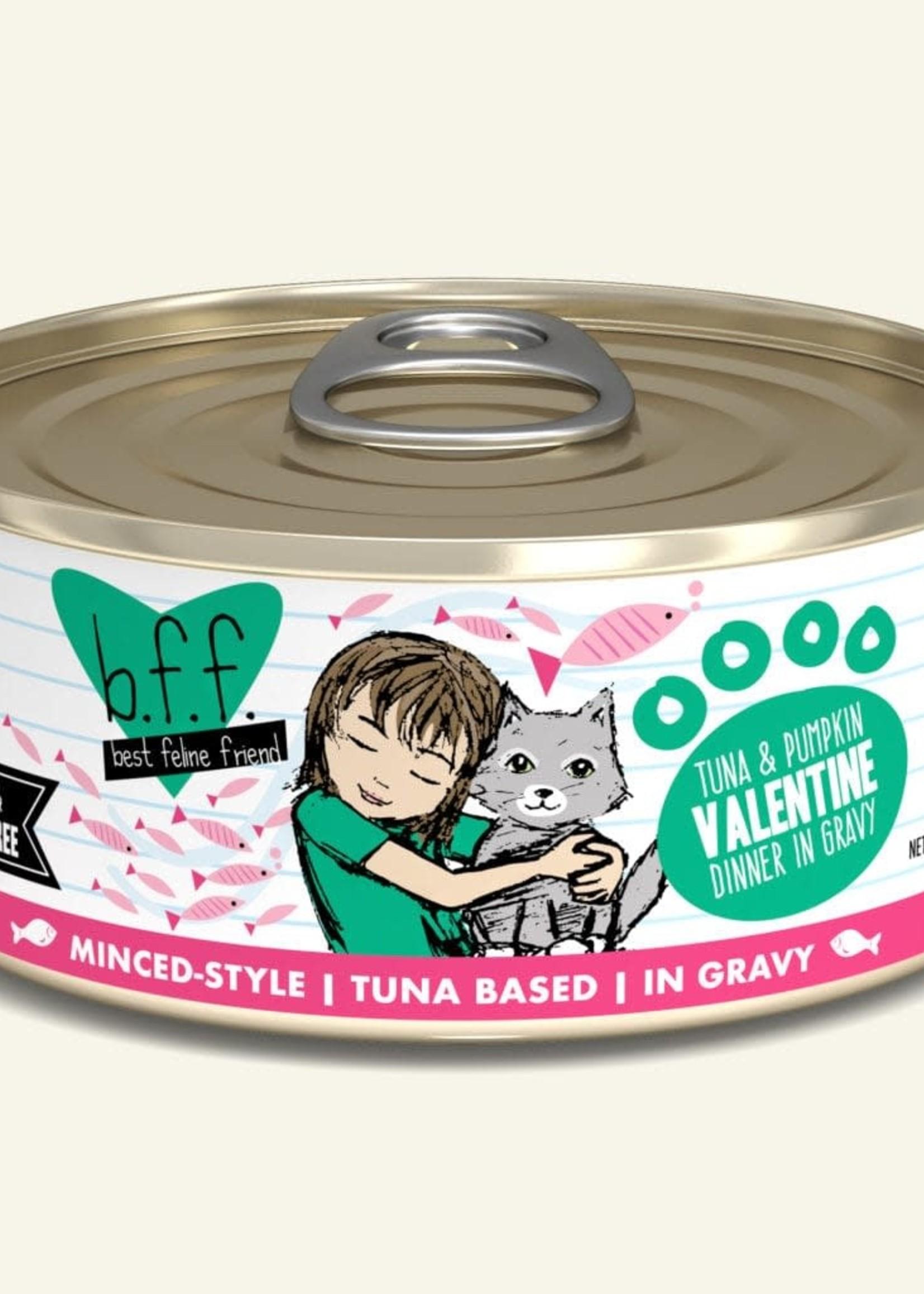 Weruva B.F.F. Tuna & Pumpkin Valentine 5.5oz Can Wet Cat Food(Pack of 24)