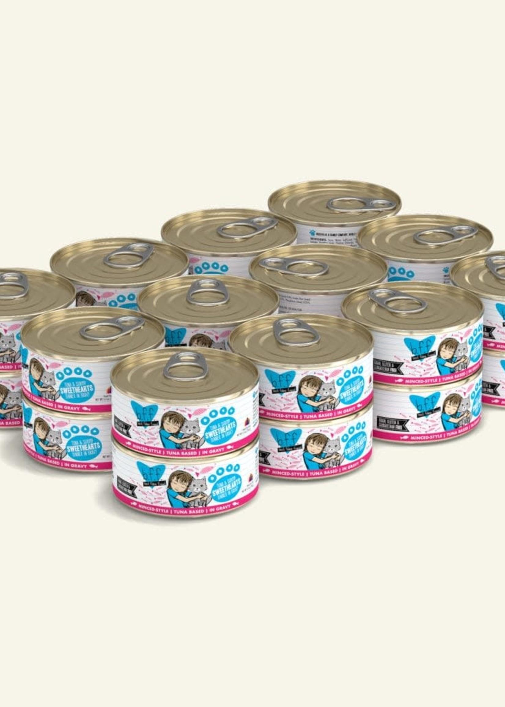 Weruva B.F.F. Tuna & Shrimp Sweethearts 5.5oz Can Wet Cat Food (Pack of 24)