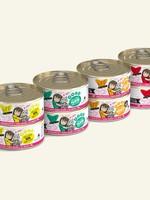 Weruva B.F.F. Batch 'O Besties Variety Pack 5.5oz Can Wet Cat Food (Pack of 8)