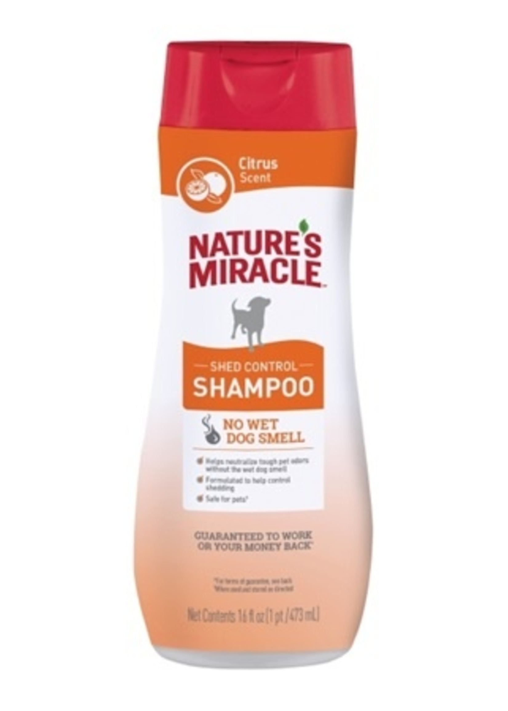 Nature's Miracle Miracle Shampoo, 16 oz Citrus Scent