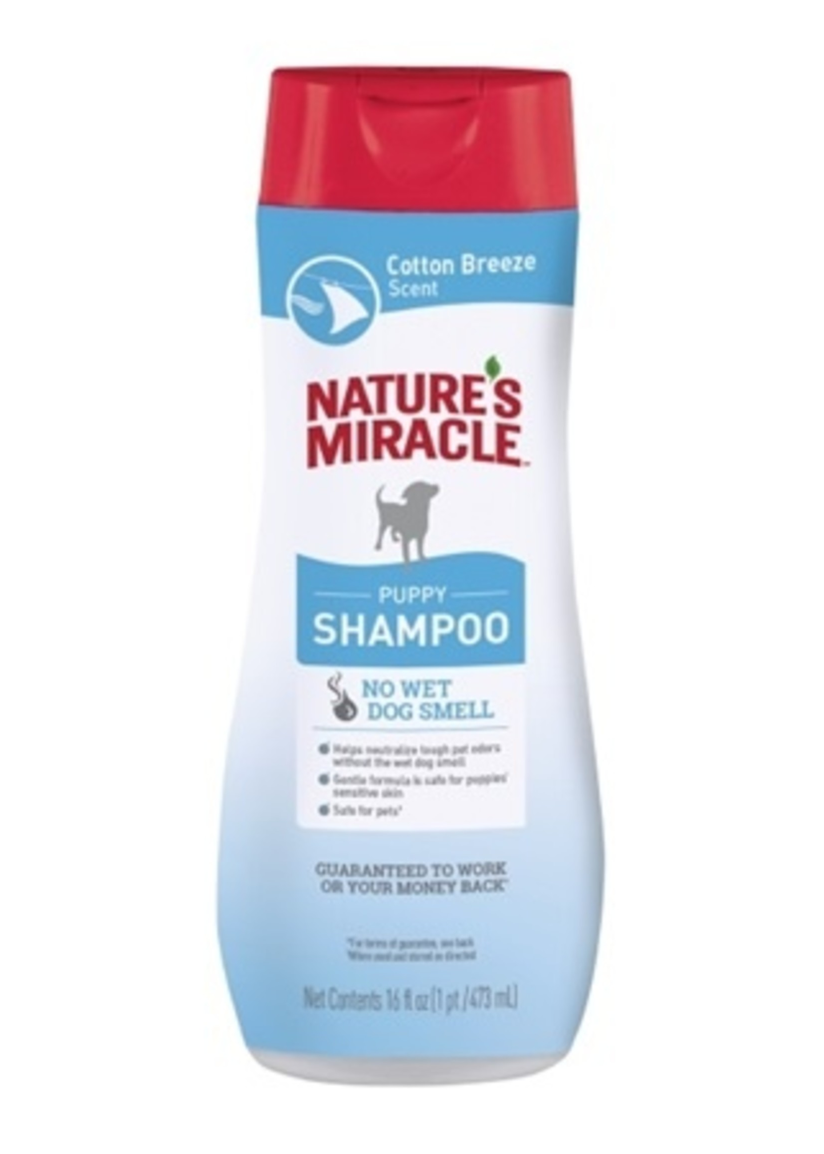 Nature's Miracle Nature's Miracle Puppy Shampoo 16 oz Cotton Breeze Scent