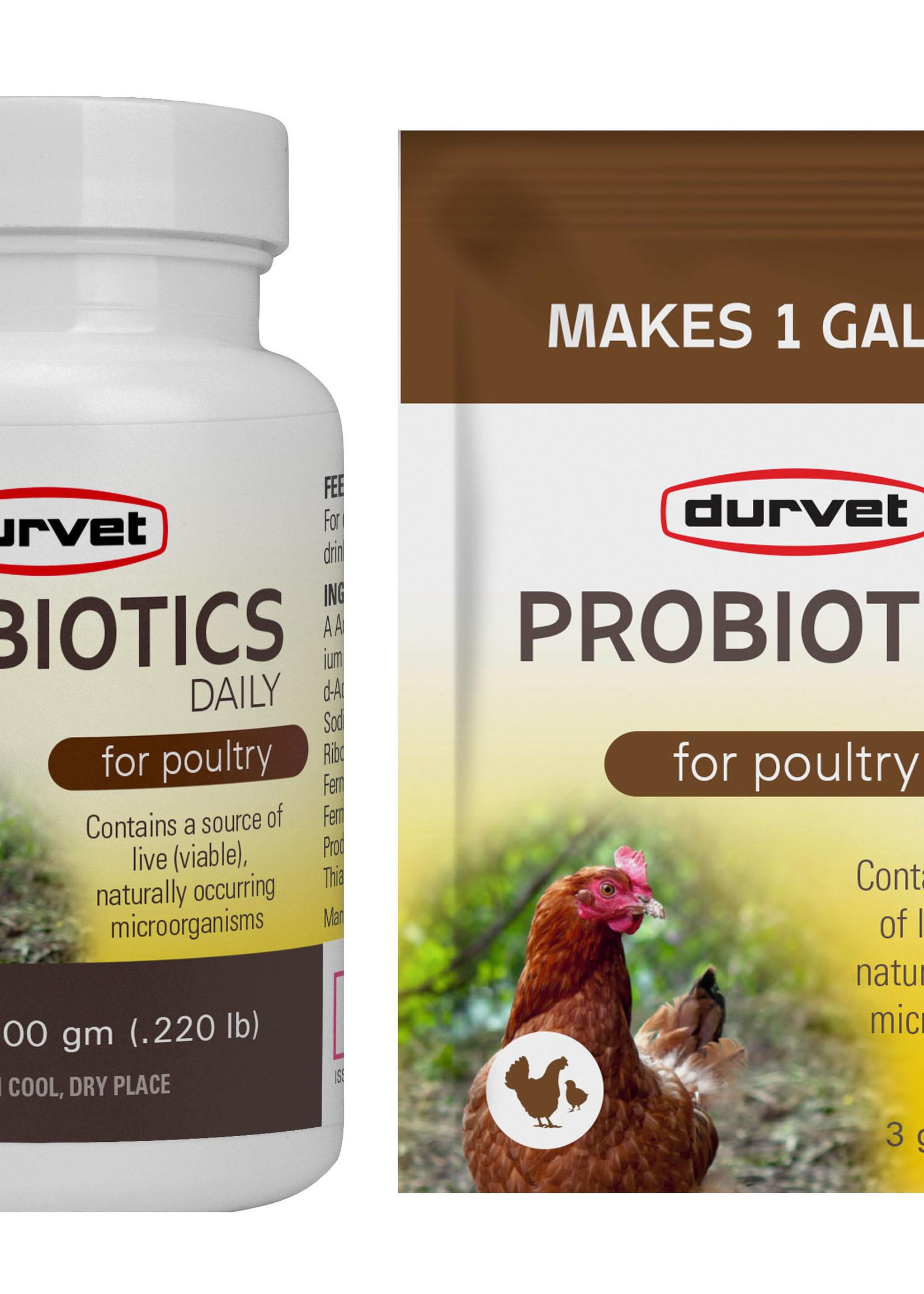 Durvet Durvet Probiotics 4 gm