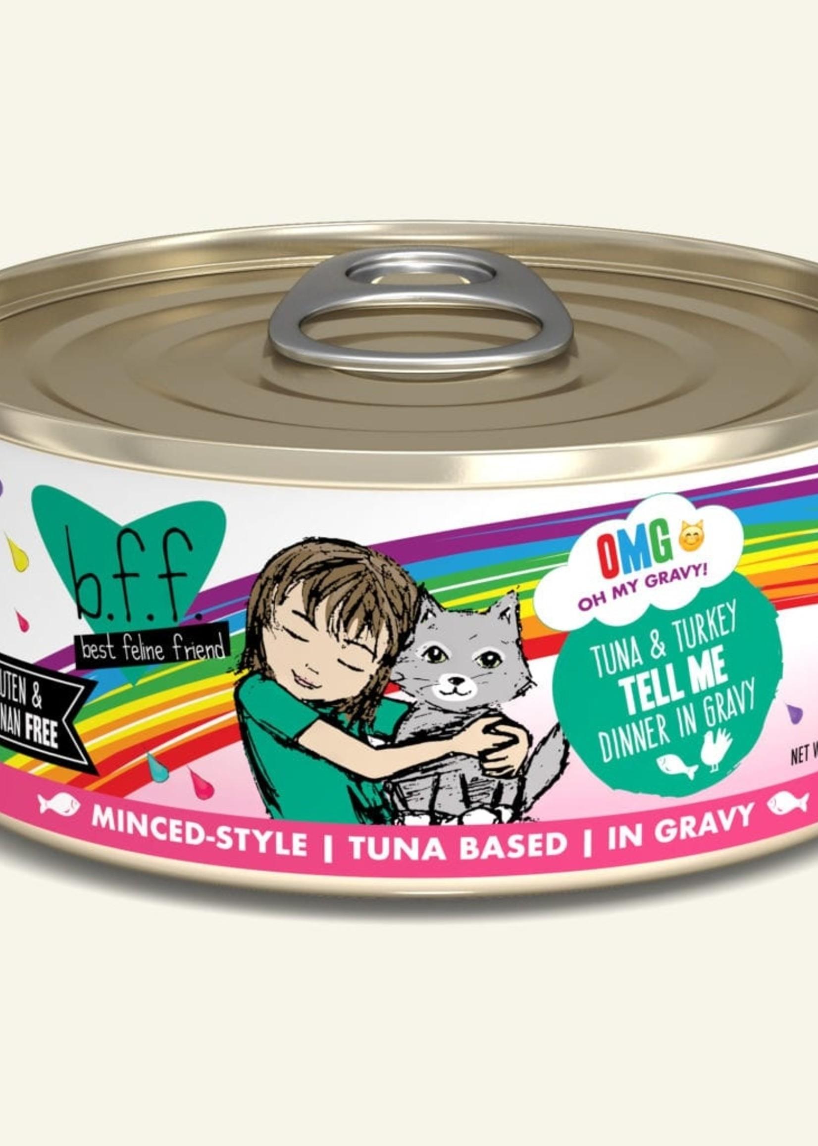 Weruva B.F.F. OMG Tell Me Tuna & Turkey 5.5 oz