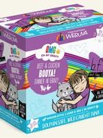 Weruva B.F.F. OMG Booya! Wet Cat Food 2.8oz Case