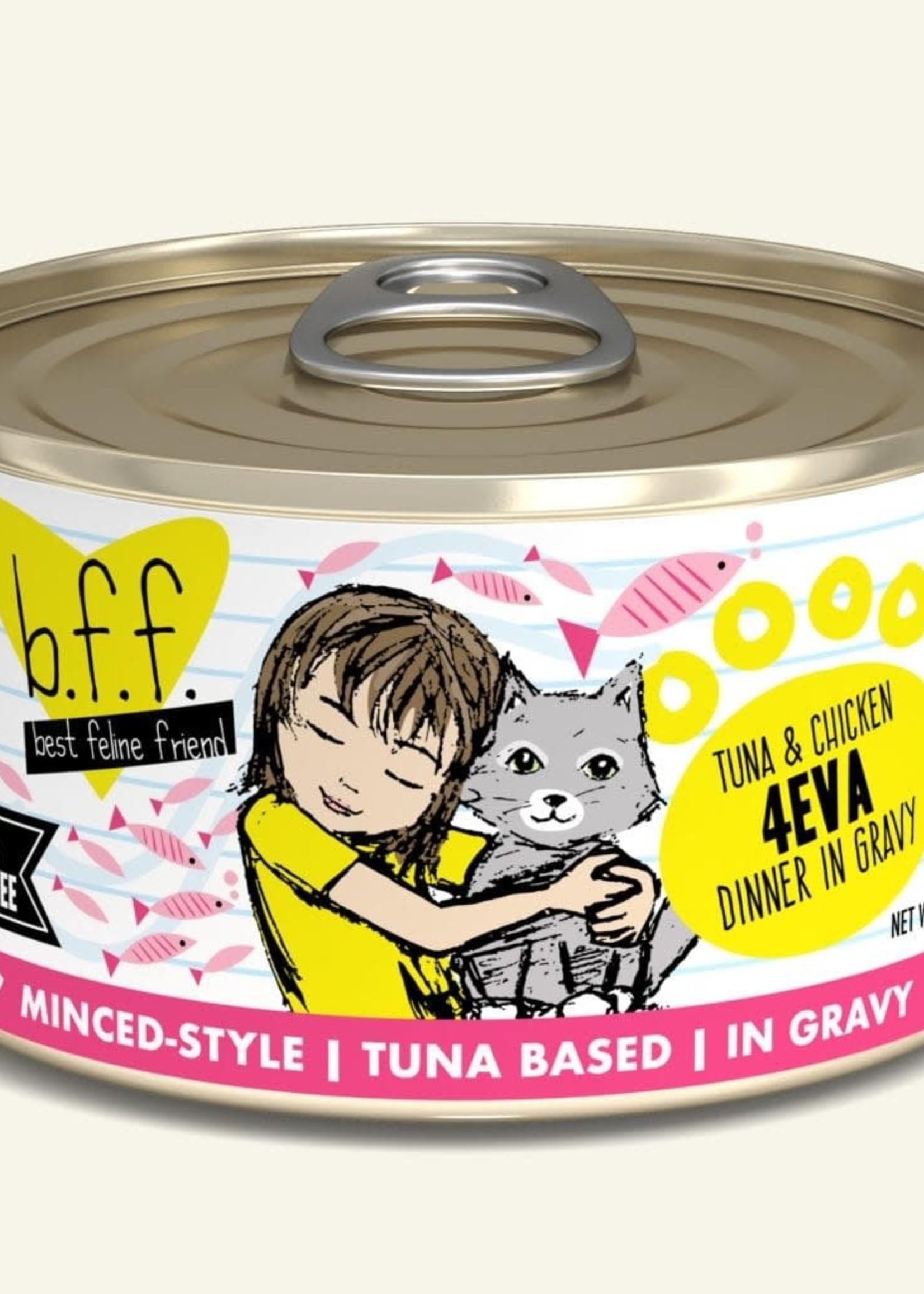 Weruva B.F.F. Tuna & Chicken 4Eva in Gravy 3oz