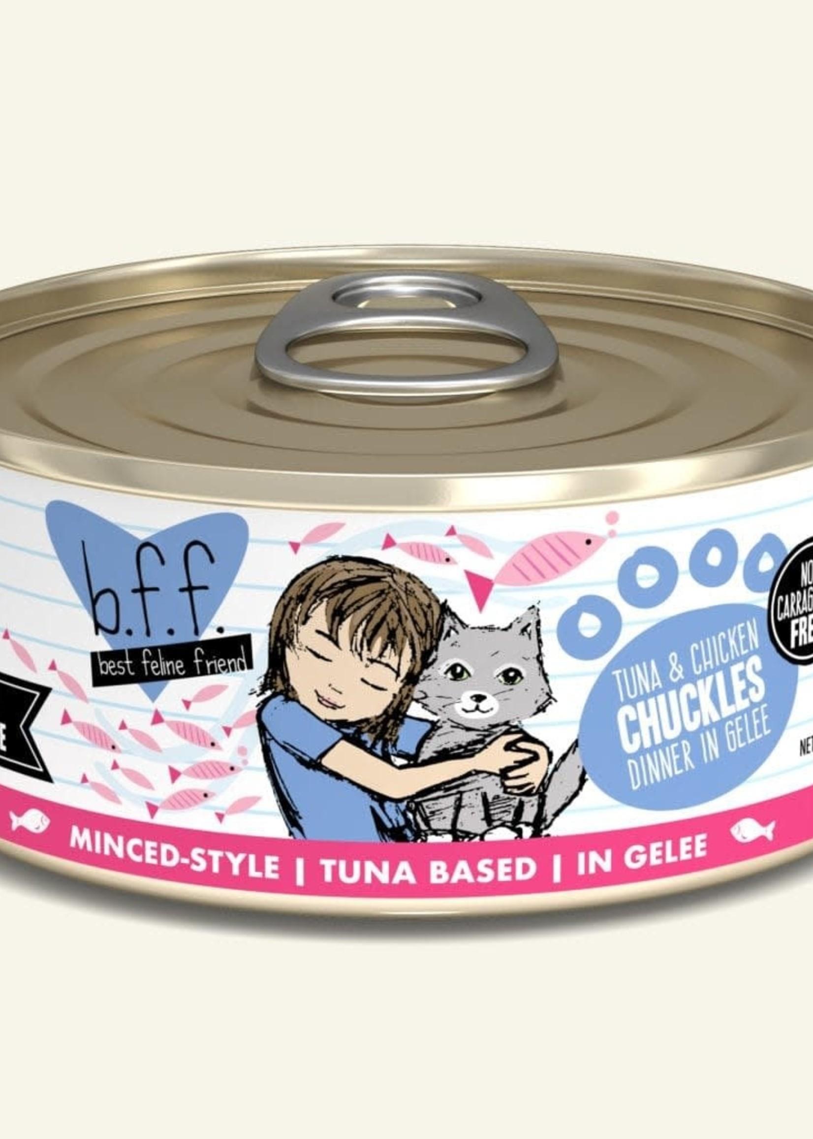 Weruva B.F.F. Tuna & Chicken Chuckles in Gelée Cat 5.5oz