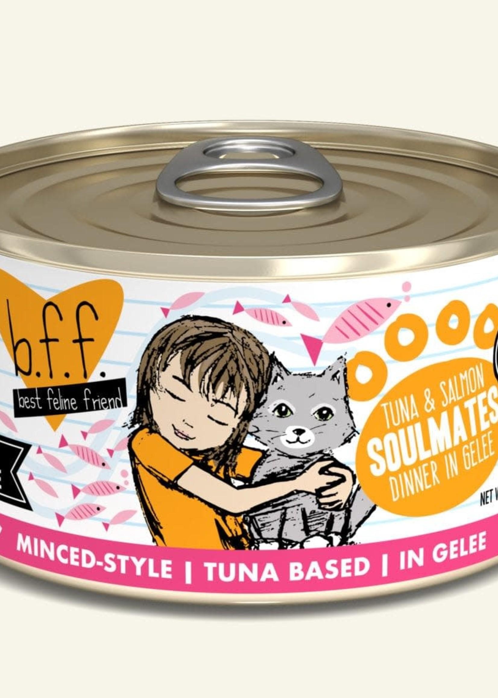Weruva B.F.F. Tuna & Salmon Soulmates 3oz