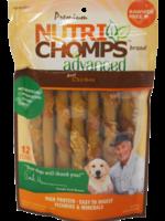 Nutri Chomp Nutri Chomps Advanced Chicken Mini Twist 12 ct