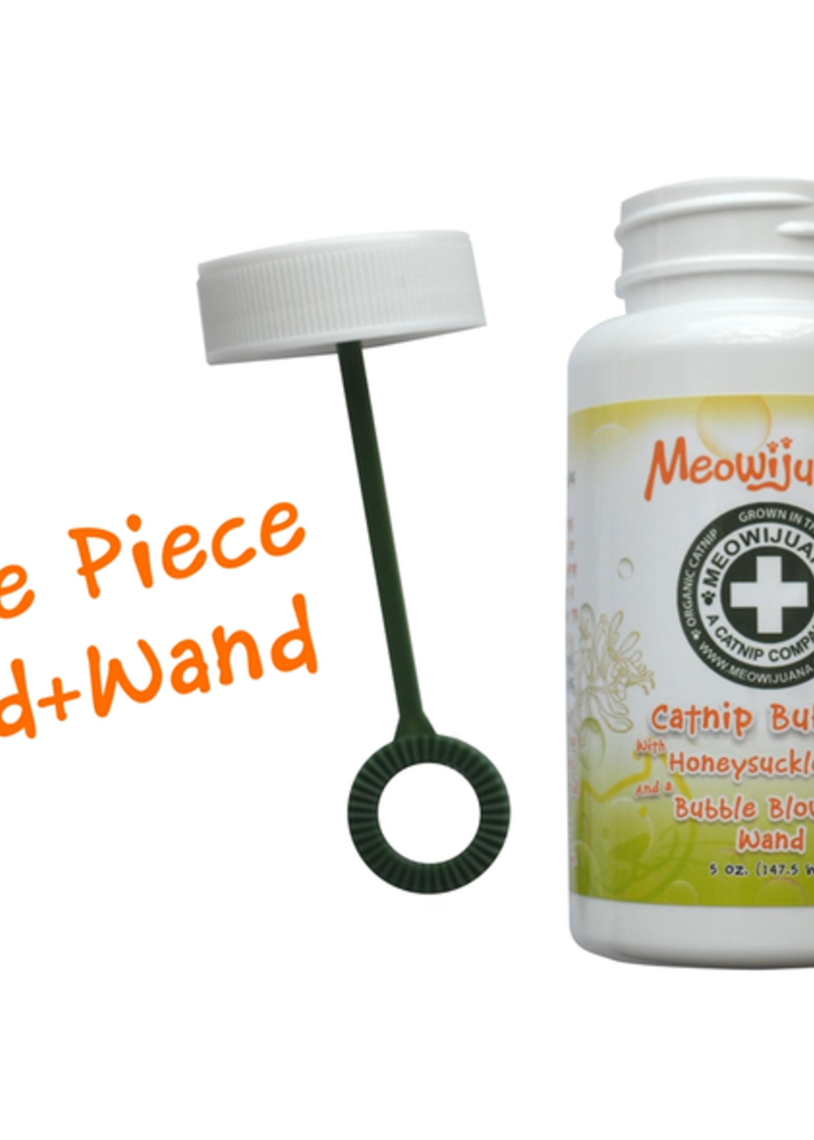 Meowijuana Catnip Bubbles w/ Honey Suckle Oil 5 oz