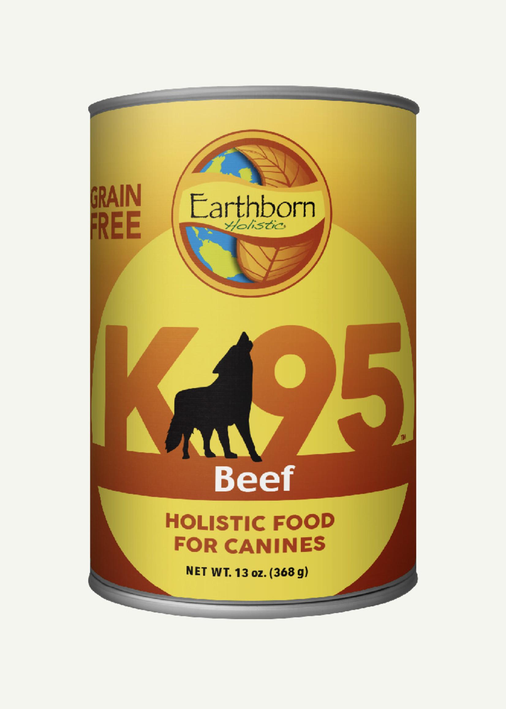 Earthborn Earthborn K95 Beef Grain Free 13 oz Case