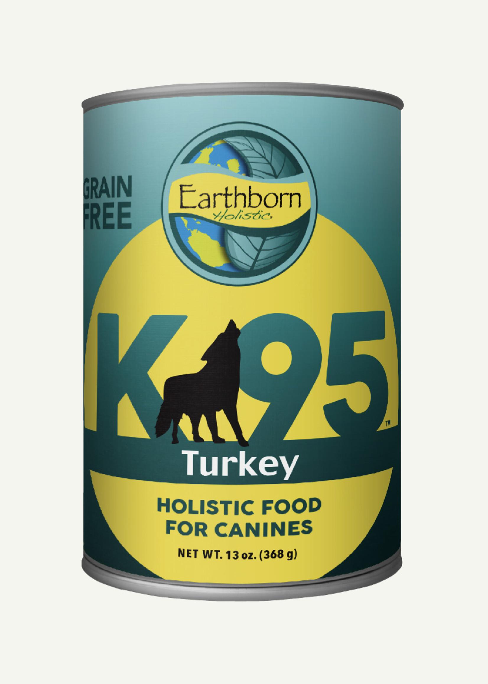 Earthborn Earthborn K95 Turkey Grain Free 13 oz Case