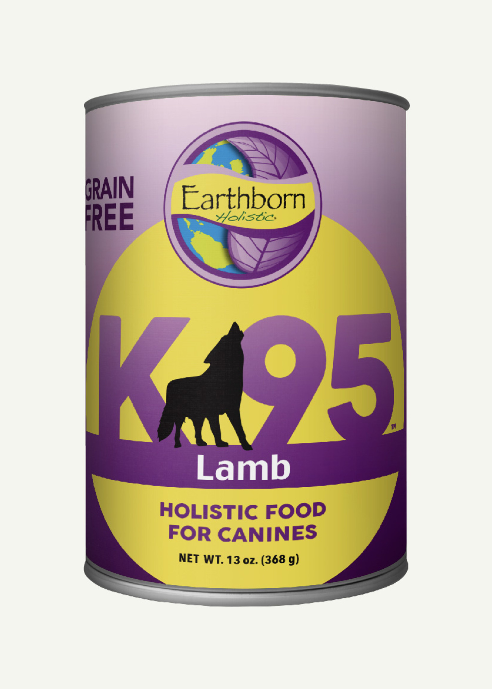 Earthborn Earthborn K95 Lamb Grain Free 13 oz