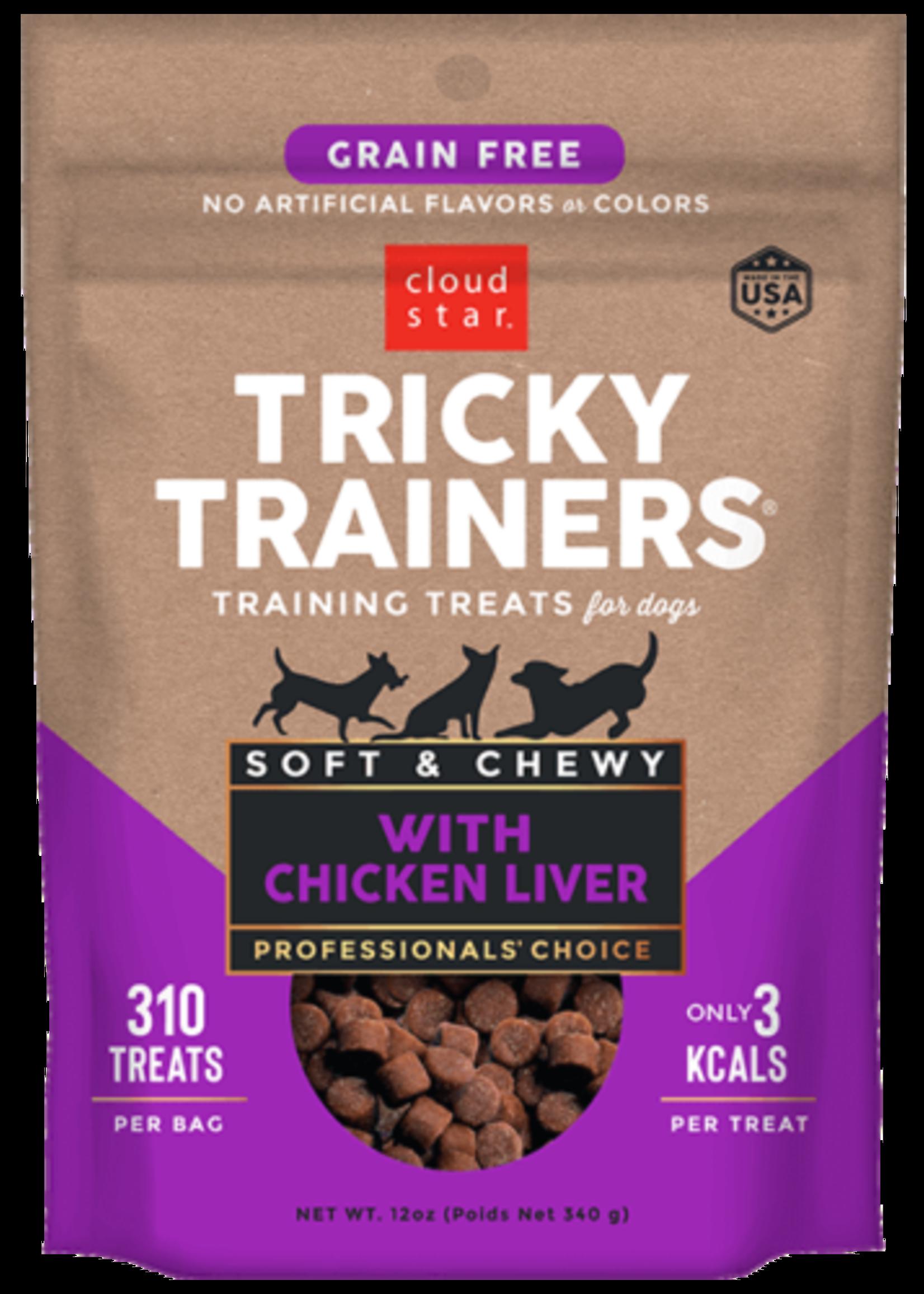 Cloud Star CloudStar Tricky Trainer Liver 5 oz