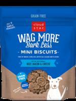Cloud Star CloudStar Wag More Bark Less Mini Beef & Bacon 7 oz