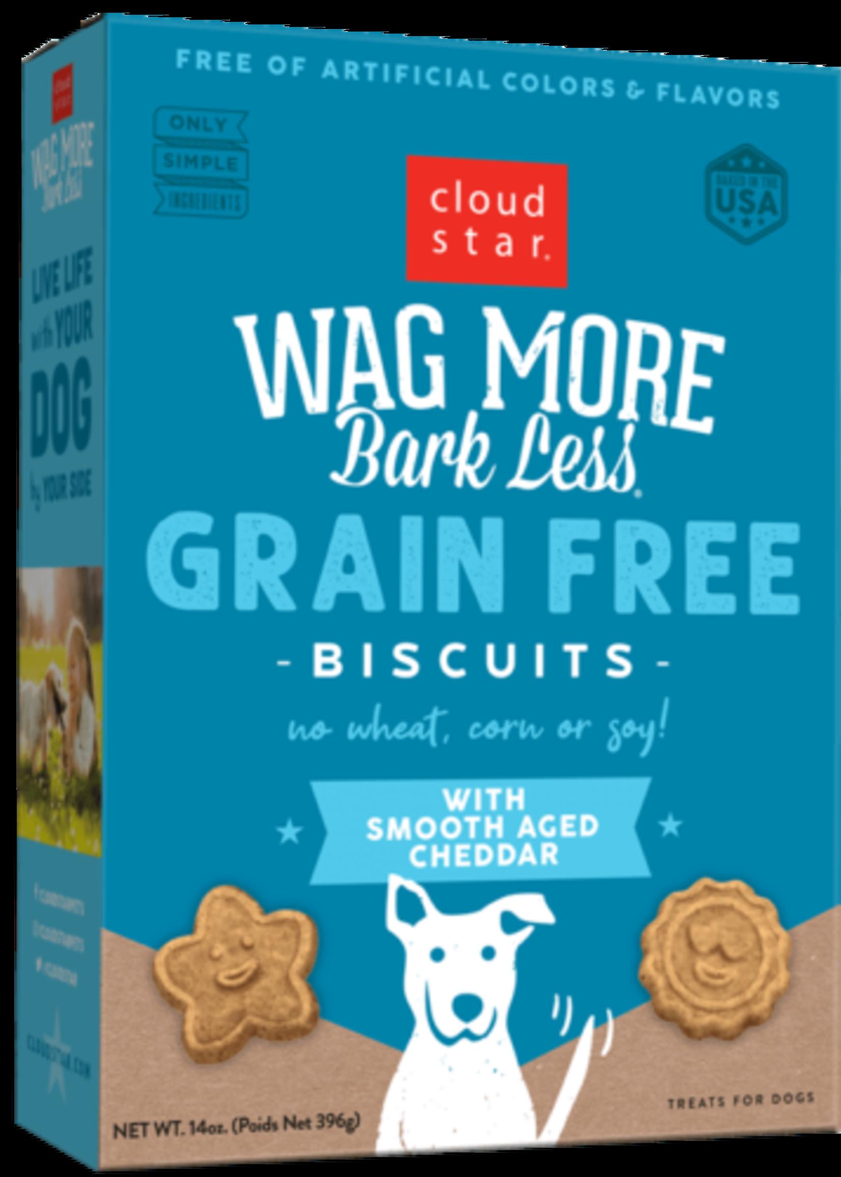 Cloud Star CloudStar Wag More Bark Less Cheddar 7 oz