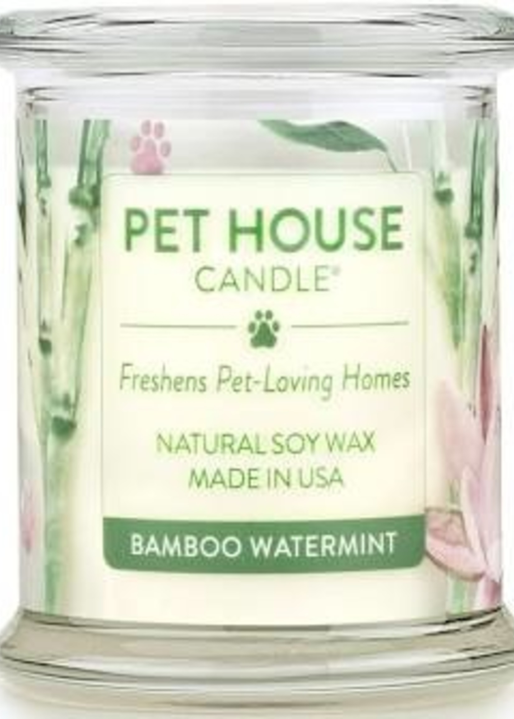 Pet House Candle Pet House Candle Bamboo Watermint