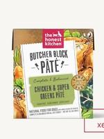 The Honest Kitchen Honest Kitchen Butcher Block Chicken & Greens Pate 6 x 10.5oz