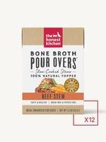 The Honest Kitchen The Honest Kitchen Bone Broth Pour Over Beef Stew 12 x 5.5oz