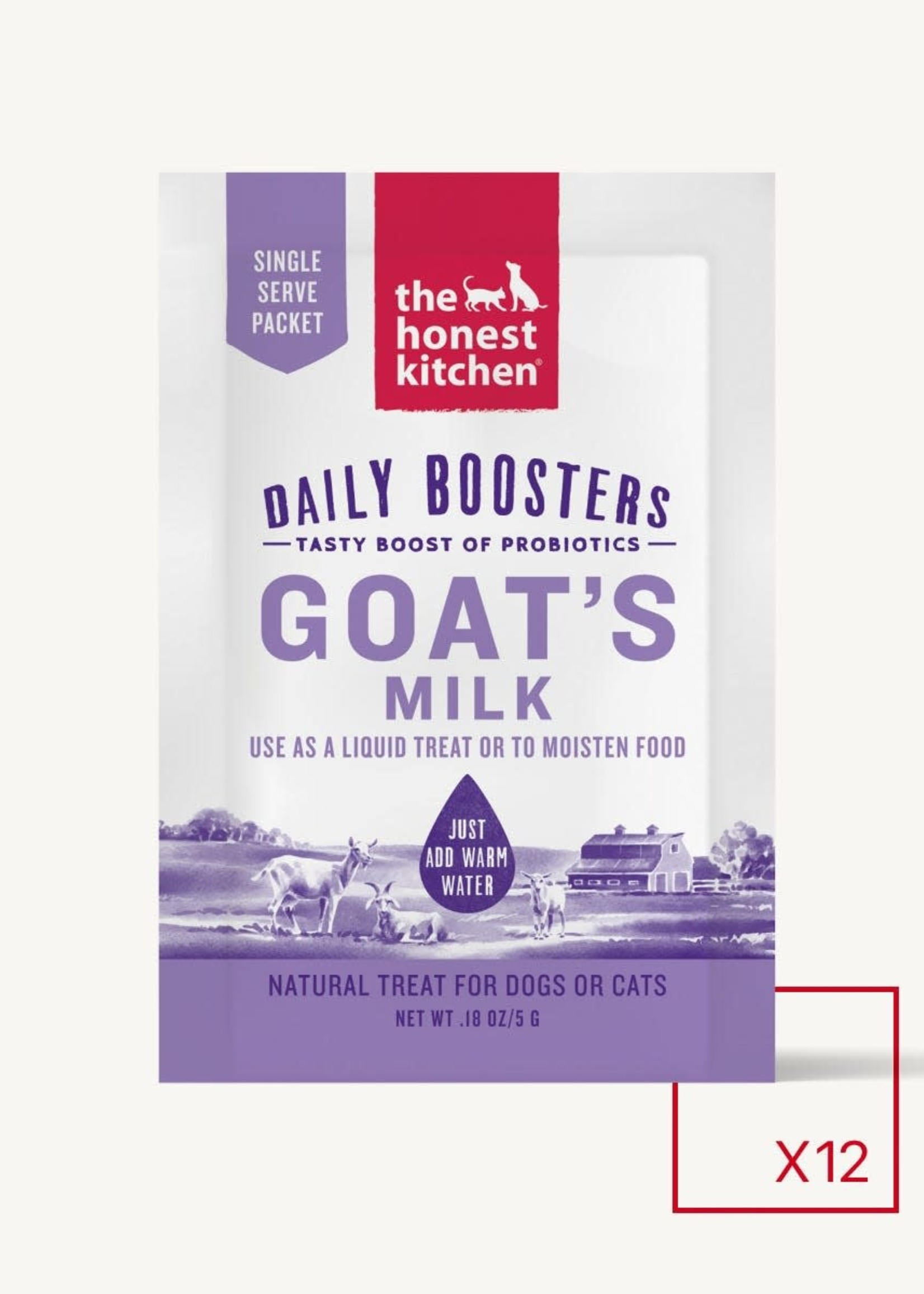 The Honest Kitchen The Honest Kitchen Daily Boosters Goat's Milk Single Serve Pack 5g