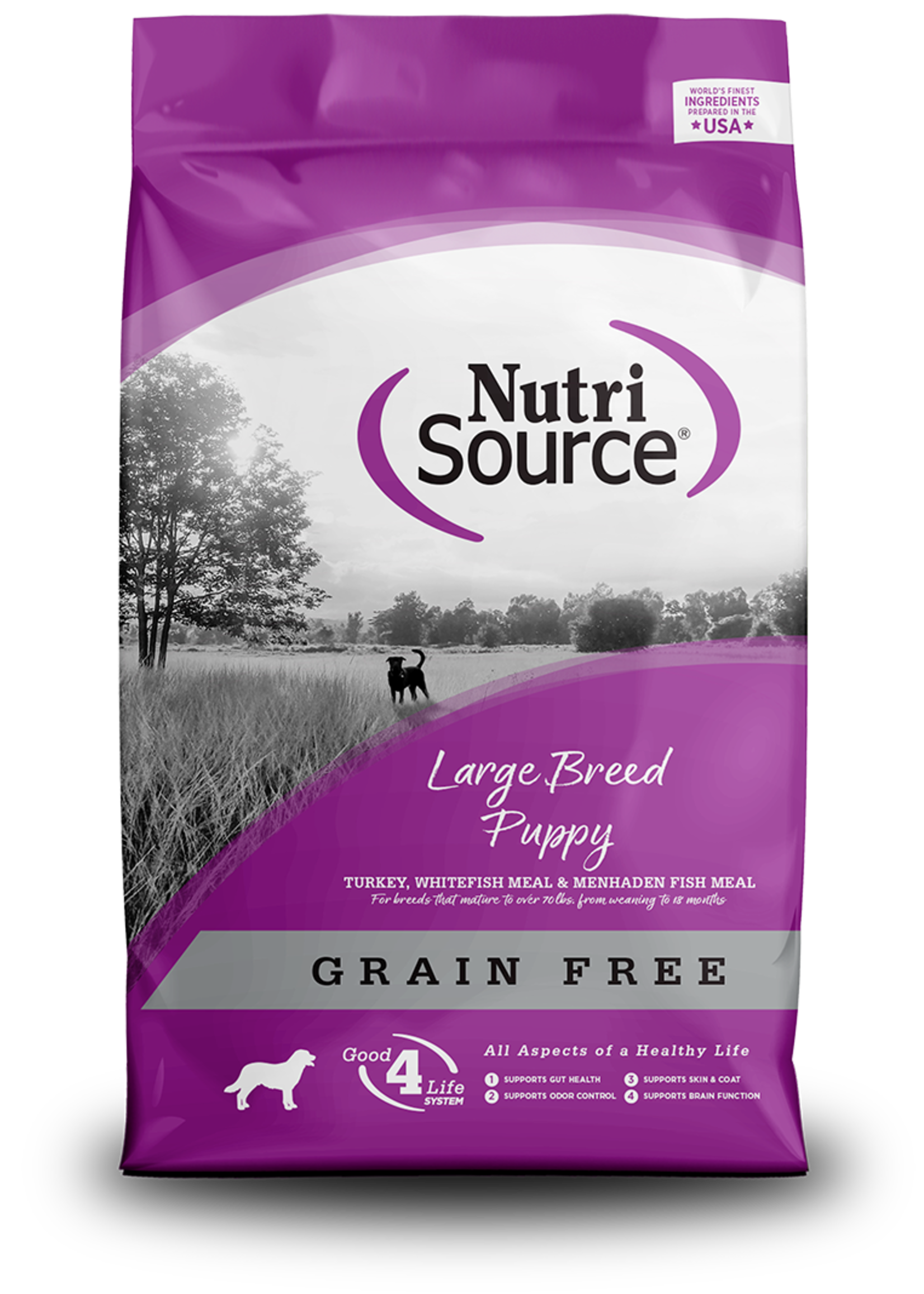 Nutrisource Nutrisource Grain-Free Large Breed Puppy Dry Dog Food 15lbs