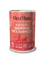 Firstmate Firstmate Dog Salmon & Rice 12.2 oz Case