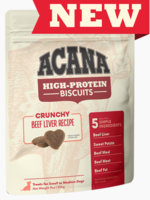 Acana Acana High Protein Small Biscuits Beef Liver 9 oz