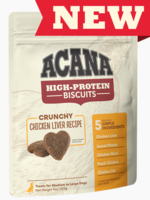 Acana Acana High Protein Small Biscuits Chicken Liver 9 oz