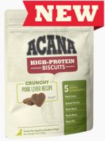 Acana Acana High Protein Small Biscuits Pork Liver 9 oz