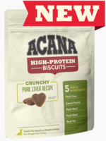 Acana Acana High Protein Med Biscuits Pork Liver 9 oz