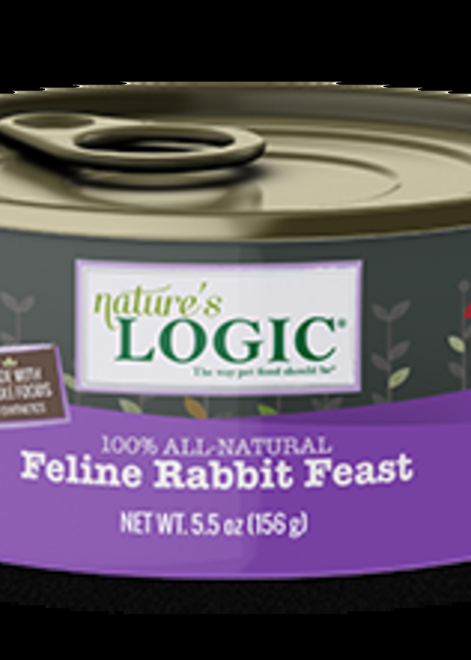 Nature's Logic Nature's Logic Rabbit Cat 5.5 oz